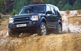 Land Rover Discovery 3 off-roading