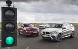 BMW X5 M, Jeep Cherokee SRT 8, Porsche Cayenne Turbo