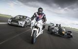 Race bike, Ariel Atom 3.5R, Citroen DS3 rallycross