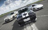 Chevrolet Camaro, Nissan GT-R, Porsche 911 Turbo