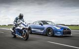 Litchfield Nissan GT-R, race bike