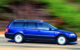 2002 Volkswagen Passat - side
