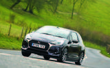 DS 3 cornering - front