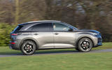 DS 7 Crossback BlueHDi 180 Performance Line 2018 review side profile
