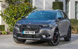 DS 7 Crossback BlueHDi 180 Performance Line 2018 review static front