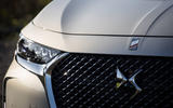 DS 7 Crossback E-Tense 2019 first drive review - front bumper