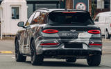 2020 Bentley Bentayga Speed prototype - rear