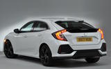 Honda Civic rear quarter