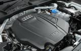 2.0-litre Audi A4 petrol engine