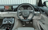 Audi S8 Plus dashboard
