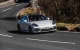Porsche Panamera Sport Turismo - front cornering