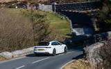 Porsche Panamera Sport Turismo - rear cornering