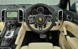 Porsche Cayenne Turbo S dashboard