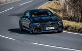 Mercedes-AMG GT 4-door Coupe - front cornering