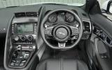 Jaguar F-type R Convertible dashboard