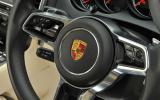 Porsche Cayenn Turbo steering wheel