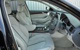 Audi S8 Plus interior