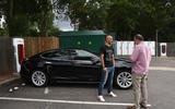 Tesla supercharging