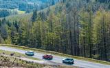 Range Rover Evoque vs Audi Q3 vs Volvo XC40 vs Lexus UX