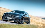 Mercedes-AMG GT 4-door Coupe - static front 3/4