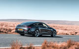 Mercedes-AMG GT 4-door Coupe - static rear 3/4