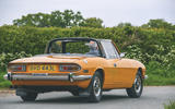 1972 Triumph Stag - cornering rear
