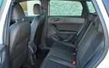 Seat Ateca rear seats