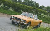 1972 Triumph Stag - cornering front