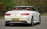 Mercedes-Benz S500 Cabriolet roof down