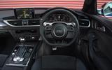 Audi RS6 Avant Performance dashboard