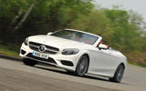 Mercedes-Benz S500 Cabriolet cornering