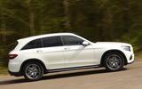 Mercedes-Benz GLC side profile