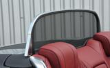 Mercedes-Benz S500 Cabriolet wind deflector