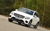 Mercedes-Benz GLC cornering