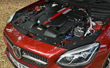 3.0-litre V6 Mercedes-AMG SLC 43 engine
