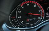 Audi RS7 Performance rev counter