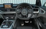 Audi RS7 Performance dashboard