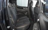 Isuzu D-Max Blade rear seats