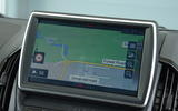 Isuzu D-Max Blade infotainment system