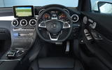 Mercedes-Benz GLC dashboard