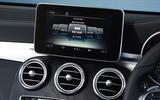 Mercedes-Benz GLC Comand infotainment