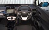 Toyota Prius Plug-in dashboard