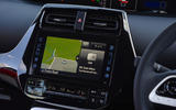 Toyota Prius Plug-in sat nav
