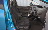 Toyota Prius Plug-in front seats
