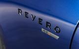 Karma Revero GTS name plate