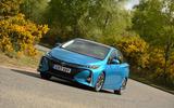Toyota Prius Plug-in cornering