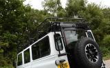 Land Rover Defender 110 Adventure roof rack