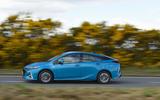 Toyota Prius Plug-in side profile