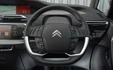 Citroën C4 Grand Picasso steering wheel