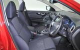 2016 Nissan Qashqai studio - front seats